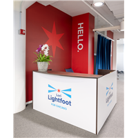 Reception Desk Graphics