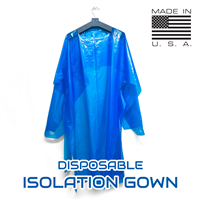PPE Disposable Isolation Gown