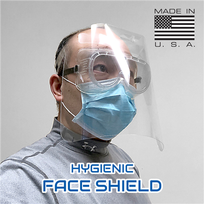 PPE Hygienic Face Shield (FDA Authorized)