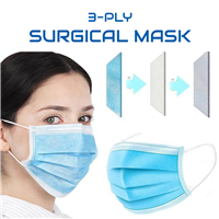PPE 3-ply Surgical Mask